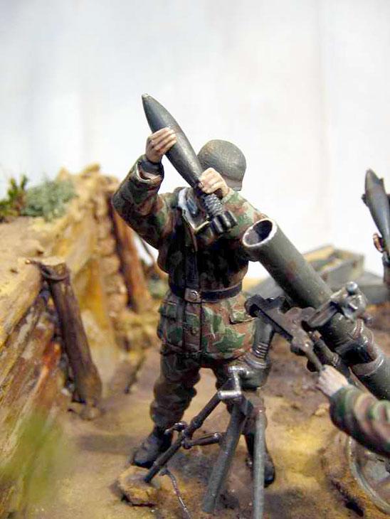 Dioramas and Vignettes: German Mortar Team, photo #12