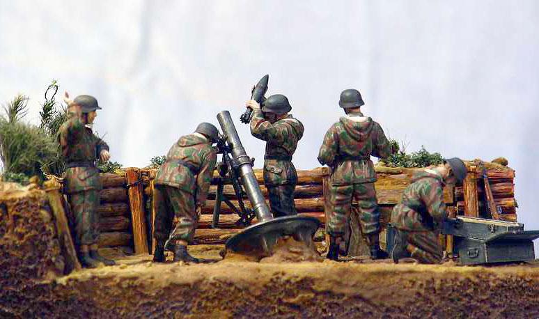 Dioramas and Vignettes: German Mortar Team, photo #2