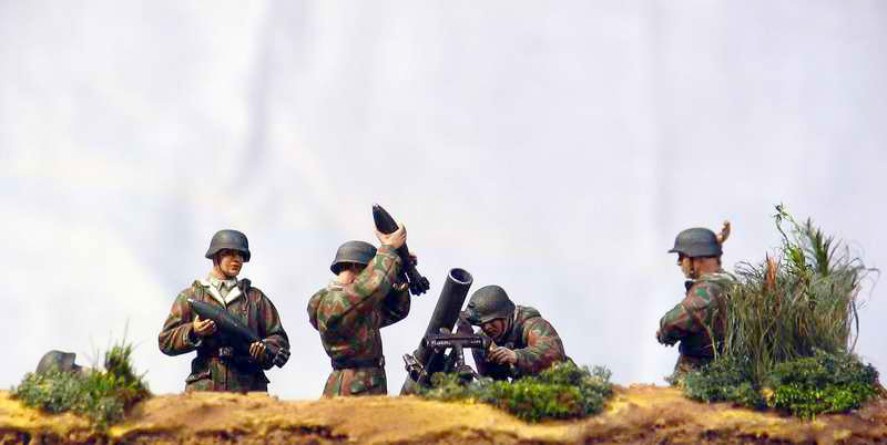Dioramas and Vignettes: German Mortar Team, photo #3