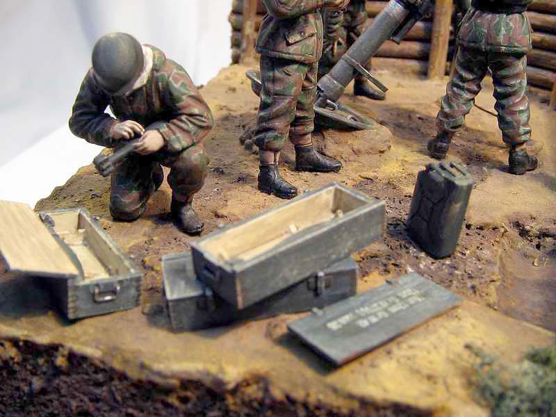 Dioramas and Vignettes: German Mortar Team, photo #4