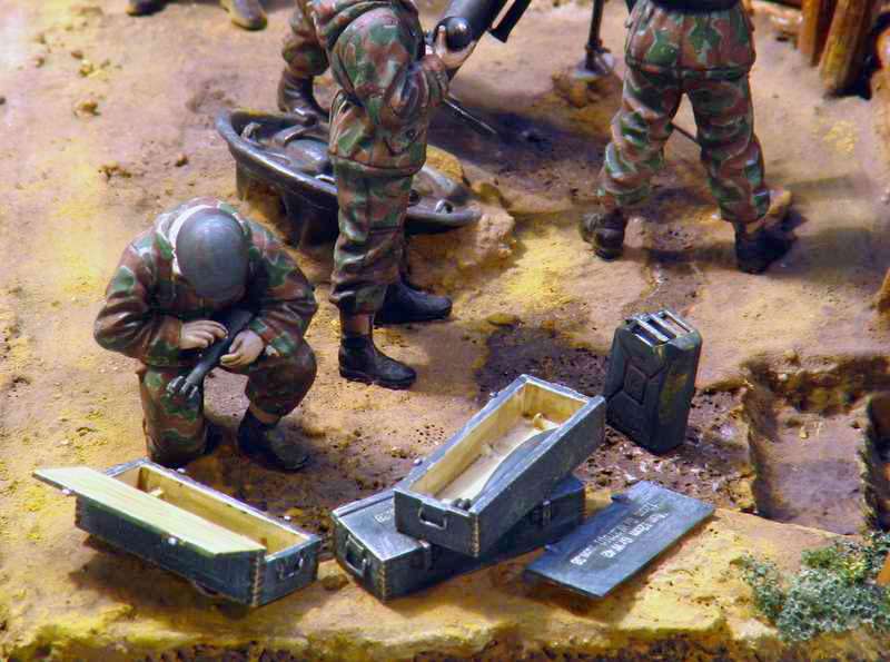 Dioramas and Vignettes: German Mortar Team, photo #5