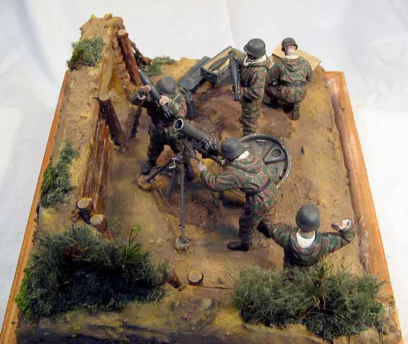 Dioramas and Vignettes: German Mortar Team, photo #9