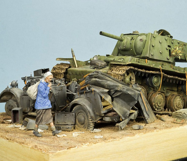 Dioramas and Vignettes: Ostrov-1
