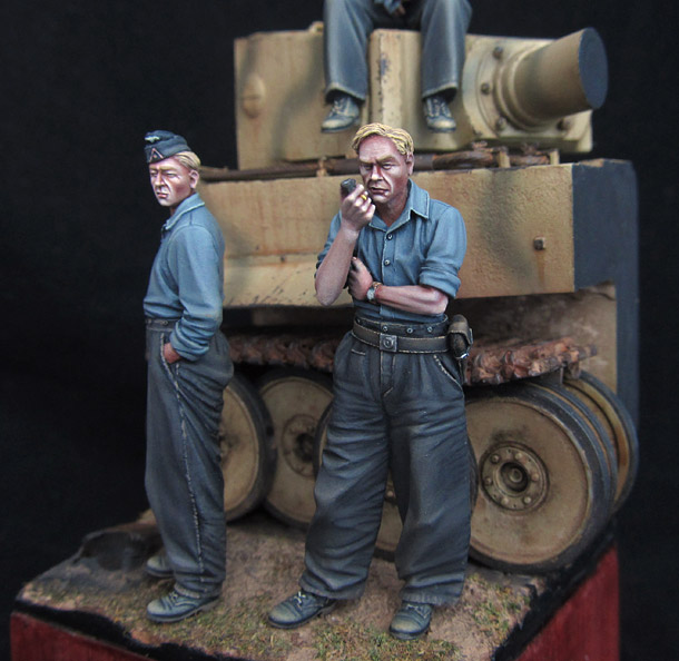 Dioramas and Vignettes: The tank crew