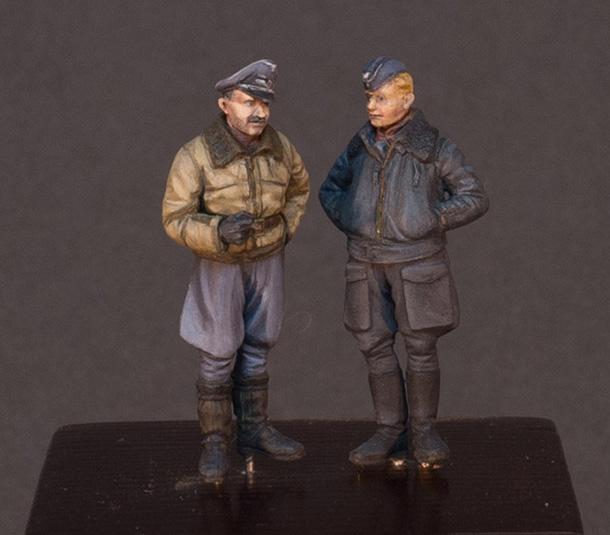 Figures: Luftwaffe pilots