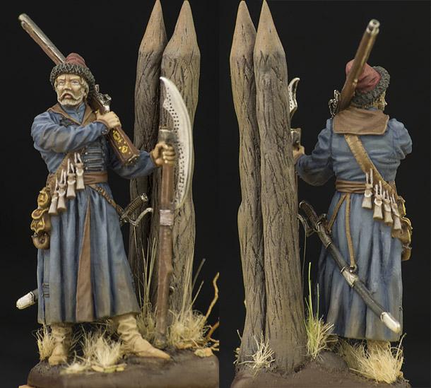 Figures: Strelets guard