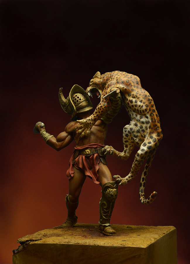 Figures: Duel with a beast, photo #3