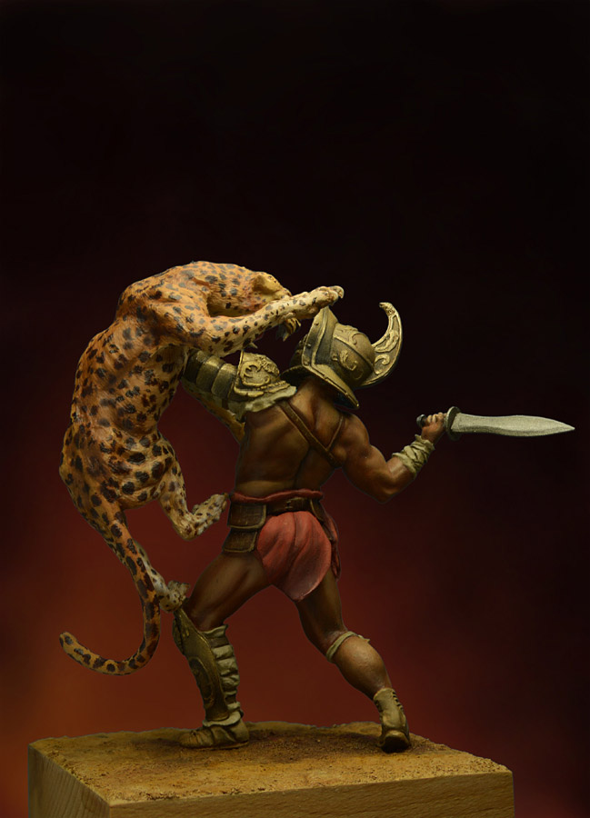 Figures: Duel with a beast, photo #4