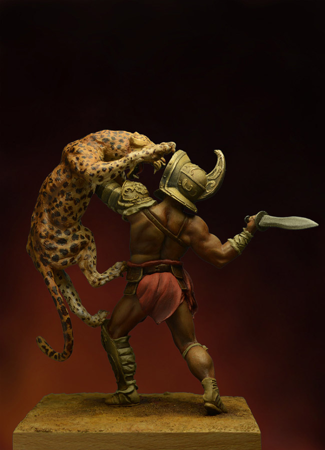 Figures: Duel with a beast, photo #5