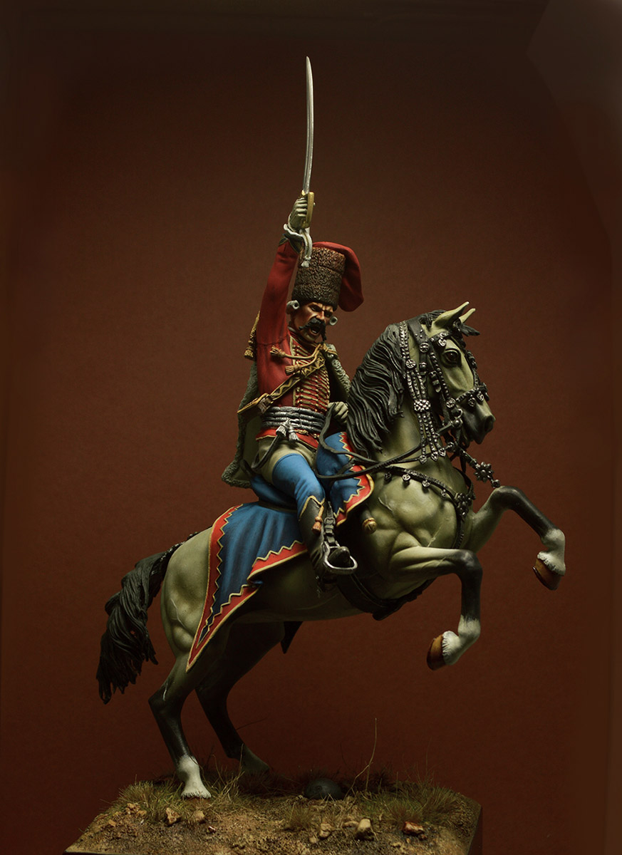 Figures: Prussian officer, 2nd Hussars, 1762, photo #1