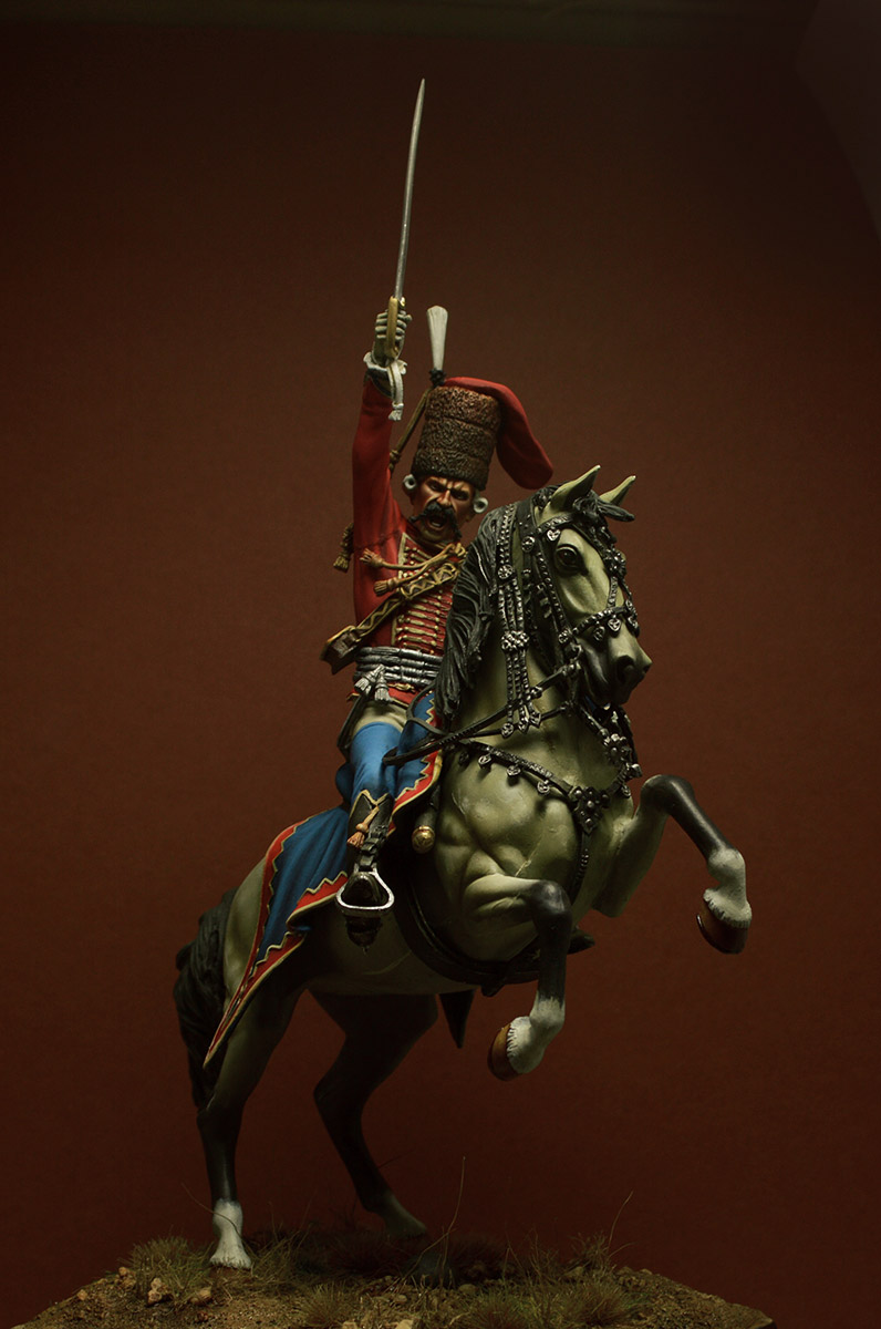 Figures: Prussian officer, 2nd Hussars, 1762, photo #2