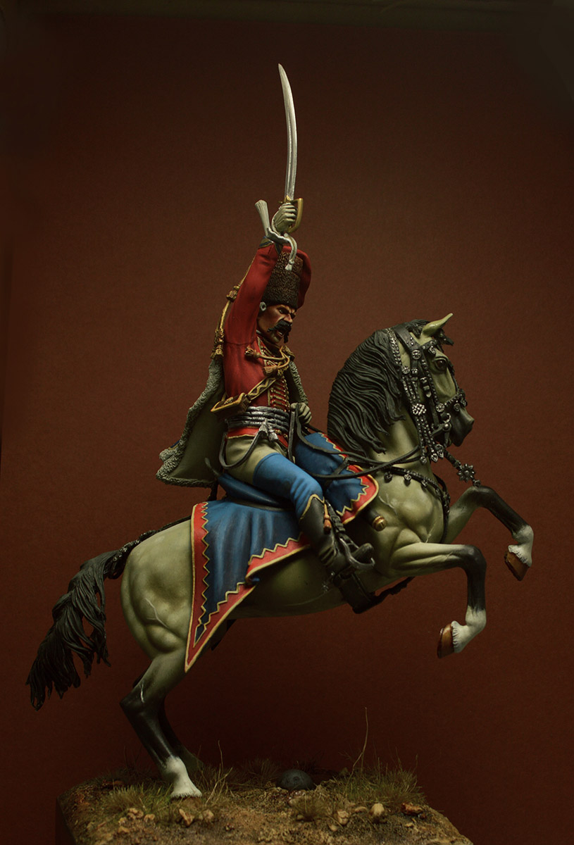 Figures: Prussian officer, 2nd Hussars, 1762, photo #3
