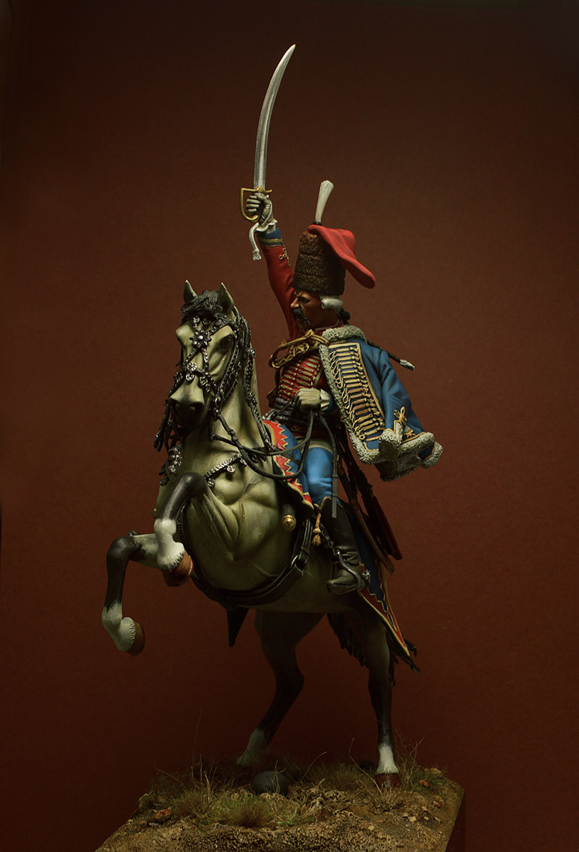 Figures: Prussian officer, 2nd Hussars, 1762, photo #4