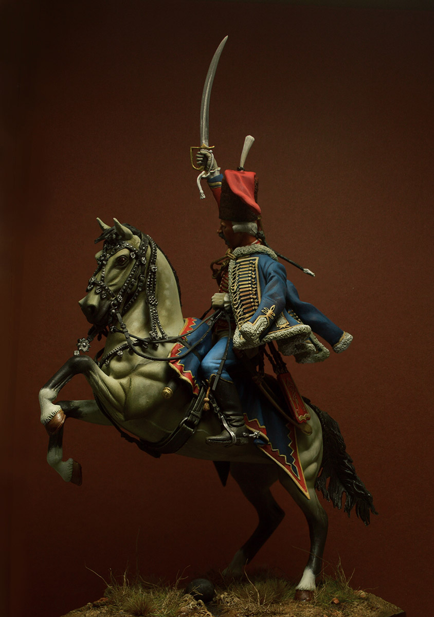 Figures: Prussian officer, 2nd Hussars, 1762, photo #5