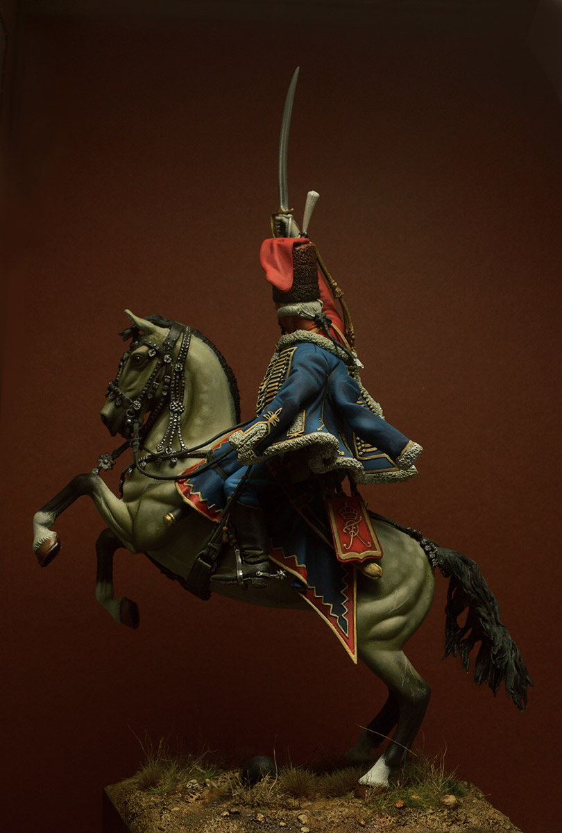 Figures: Prussian officer, 2nd Hussars, 1762, photo #6