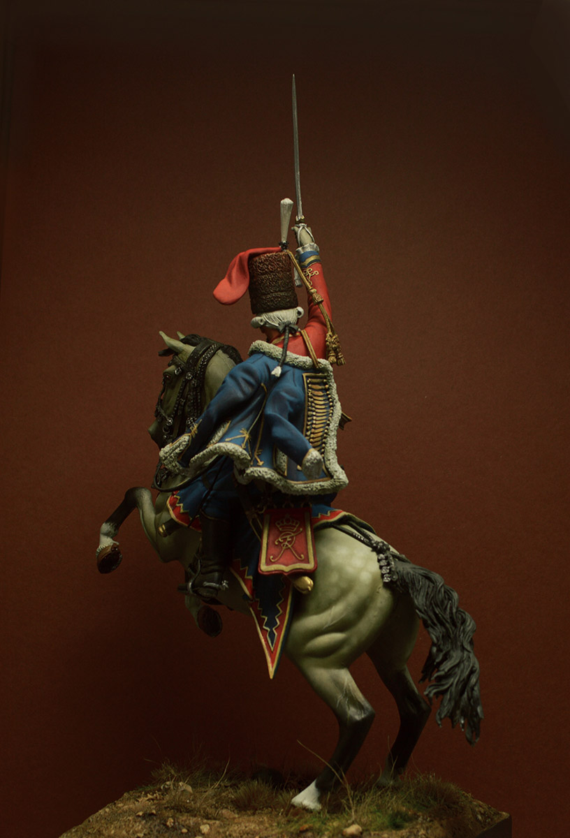 Figures: Prussian officer, 2nd Hussars, 1762, photo #7