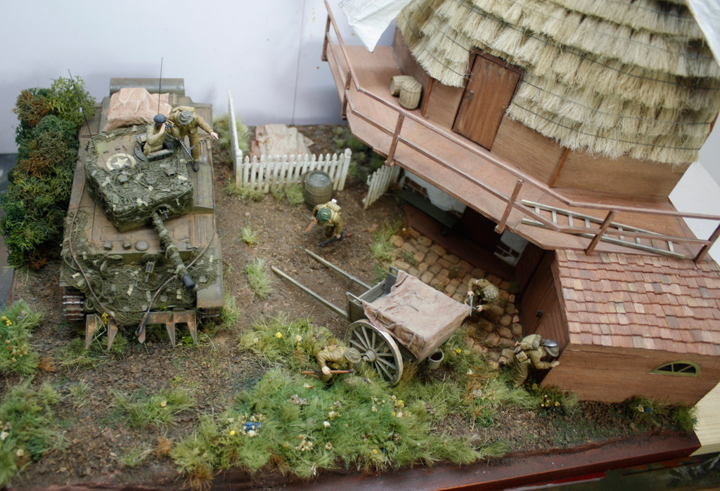 Dioramas and Vignettes: Tiger behind the corner!, photo #3