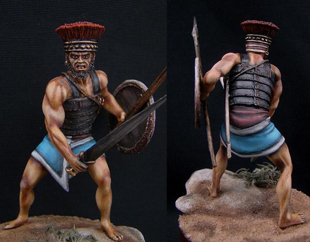 Figures: Philistine Heavy Infantryman, XIII-XII cent. B.C.