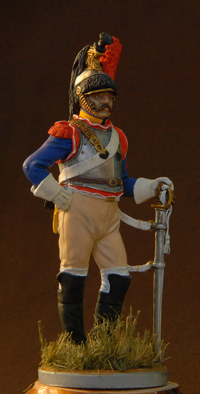 Figures: French cuirassier, 10th regt., 1812, photo #1