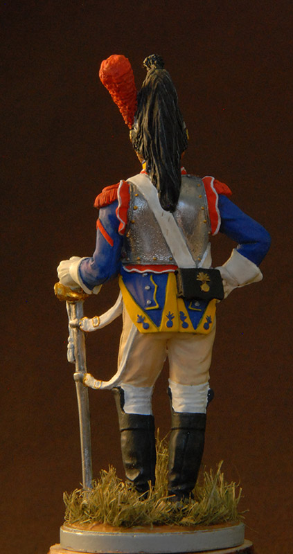 Figures: French cuirassier, 10th regt., 1812, photo #2