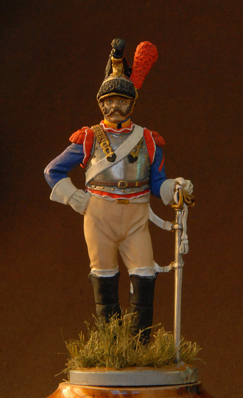 Figures: French cuirassier, 10th regt., 1812, photo #3