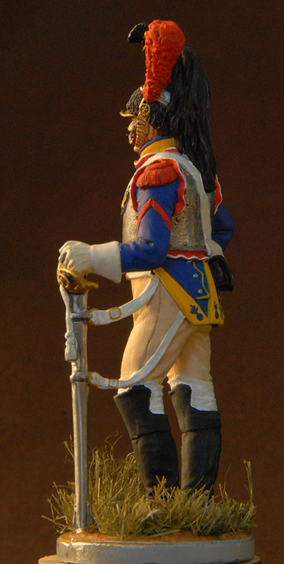 Figures: French cuirassier, 10th regt., 1812, photo #4