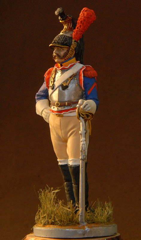 Figures: French cuirassier, 10th regt., 1812, photo #5