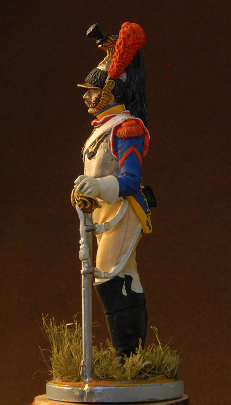 Figures: French cuirassier, 10th regt., 1812, photo #6