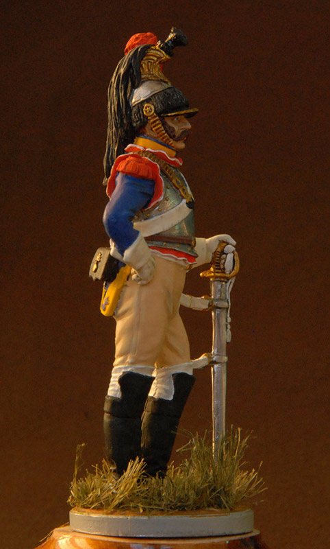 Figures: French cuirassier, 10th regt., 1812, photo #7