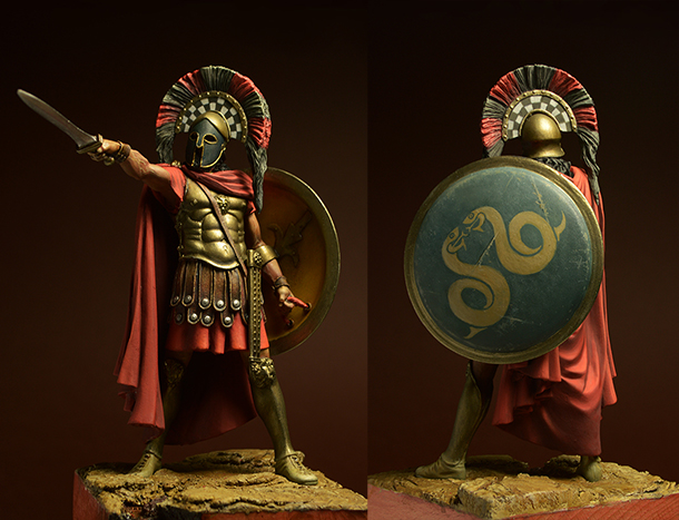 Figures: Spartan warrior