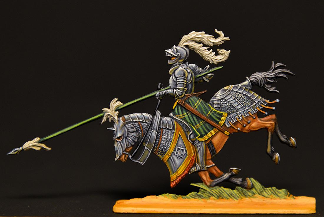Figures: German knights, XVI cent., photo #1