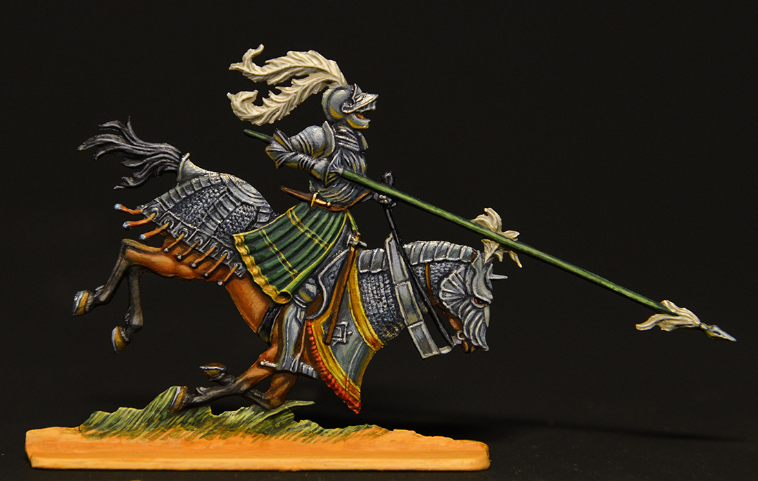 Figures: German knights, XVI cent., photo #2