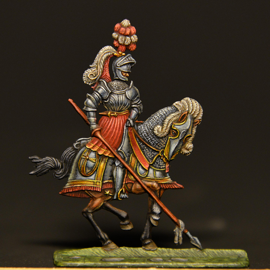 Figures: German knights, XVI cent., photo #4
