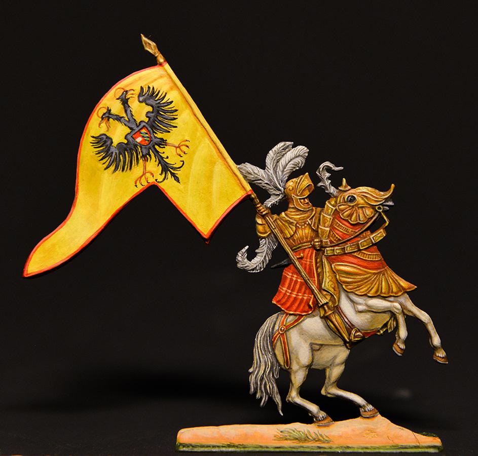 Figures: German knights, XVI cent., photo #6