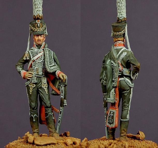 Figures: Senior officer, Alexandriysky hussars regt., 1809-11