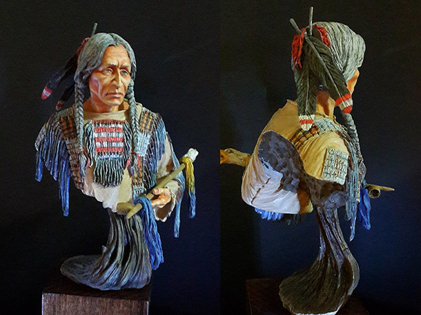 Figures: Sioux chief