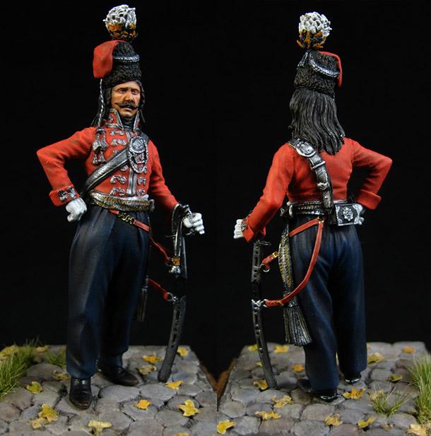 Figures: Officer, Leib Guard cossacks regt., 1801-09