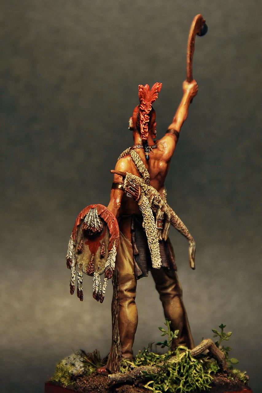 Figures: Pawnee warrior, photo #3