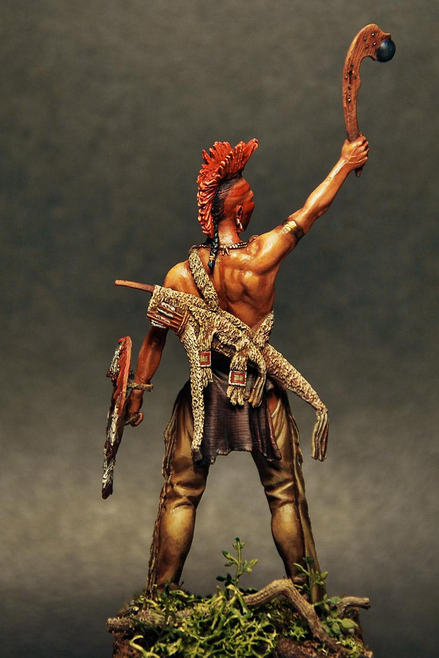Figures: Pawnee warrior, photo #4