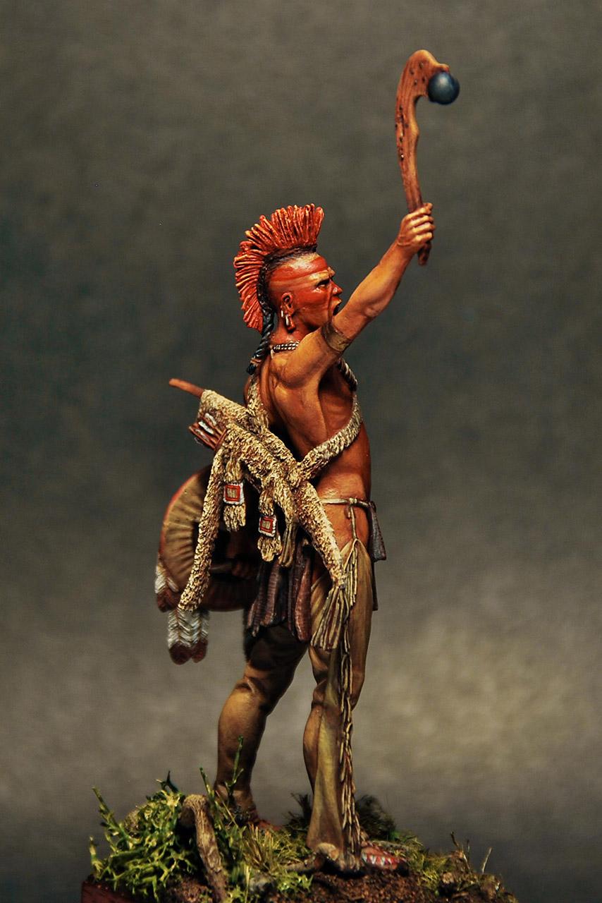 Figures: Pawnee warrior, photo #5