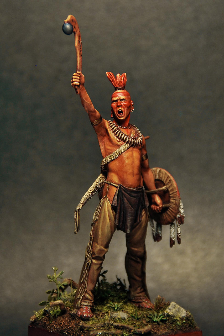 Figures: Pawnee warrior, photo #6