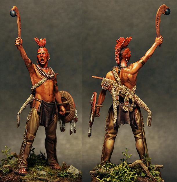 Figures: Pawnee warrior