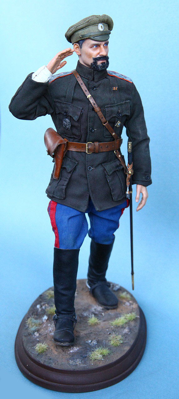 Figures:  Maj.-Gen. V.O.Kappel, summer 1919, photo #1