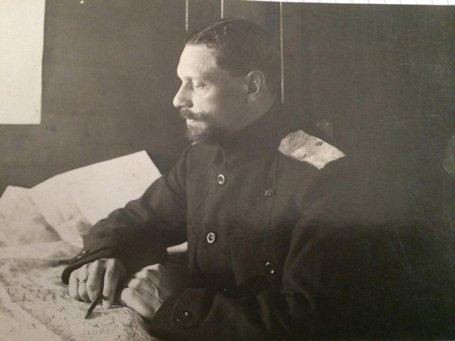Figures:  Maj.-Gen. V.O.Kappel, summer 1919, photo #10