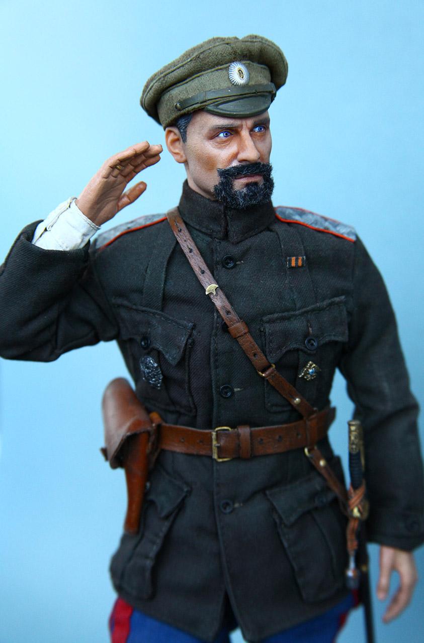 Figures:  Maj.-Gen. V.O.Kappel, summer 1919, photo #3