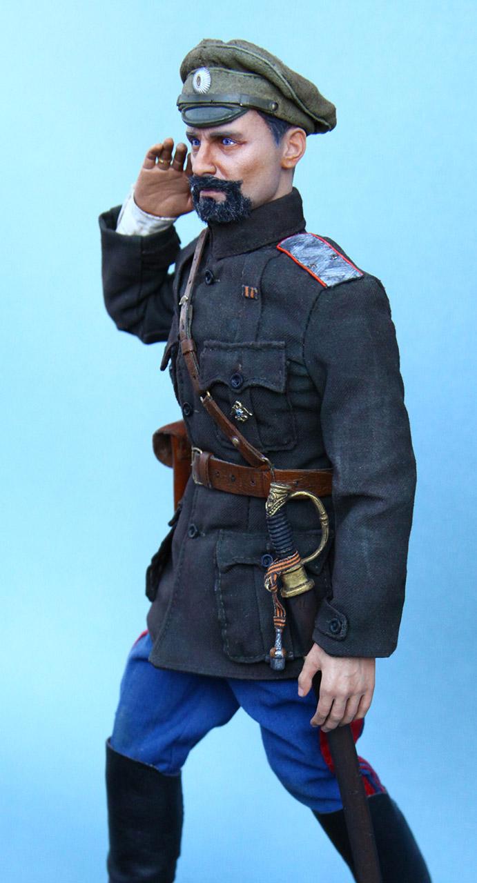 Figures:  Maj.-Gen. V.O.Kappel, summer 1919, photo #4