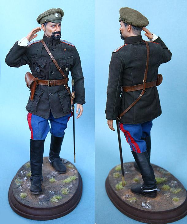 Figures:  Maj.-Gen. V.O.Kappel, summer 1919