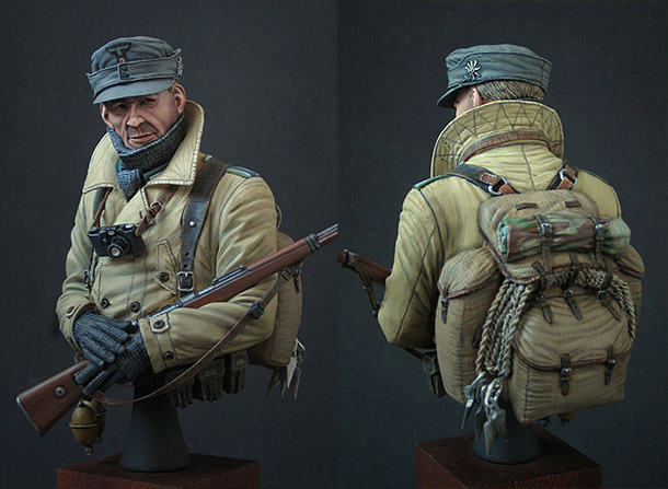 Figures: German gebirgsjaeger