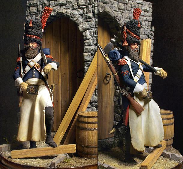 Figures: Pioneer of Emperor's Guard