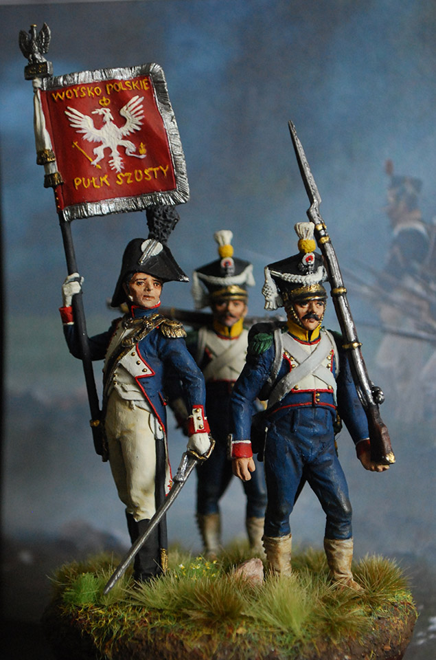 Figures: 6th infantry regt., Duchy of Warsaw, photo #1